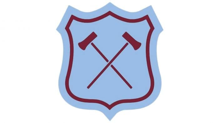 West Ham Logo 1952-1958
