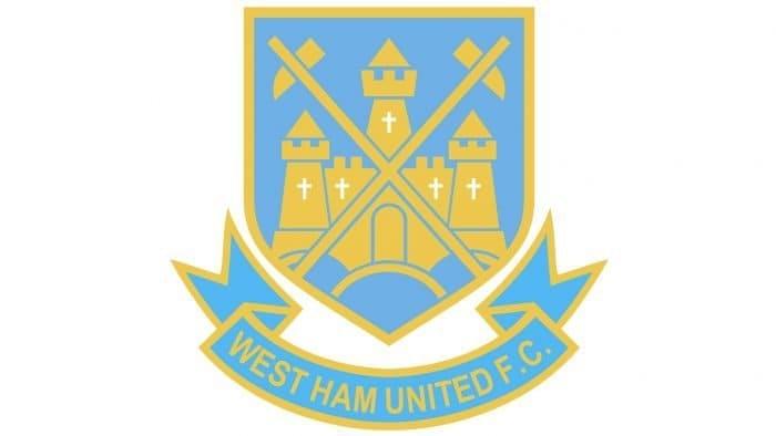 West Ham Logo 1985-1987