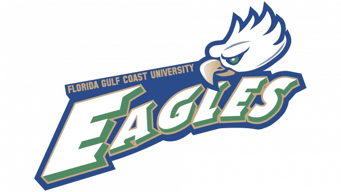 Florida Gulf Coast Eagles Soccer Logo