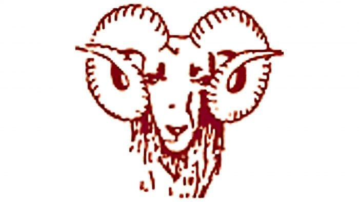 Fordham Rams Logo 1941-1947