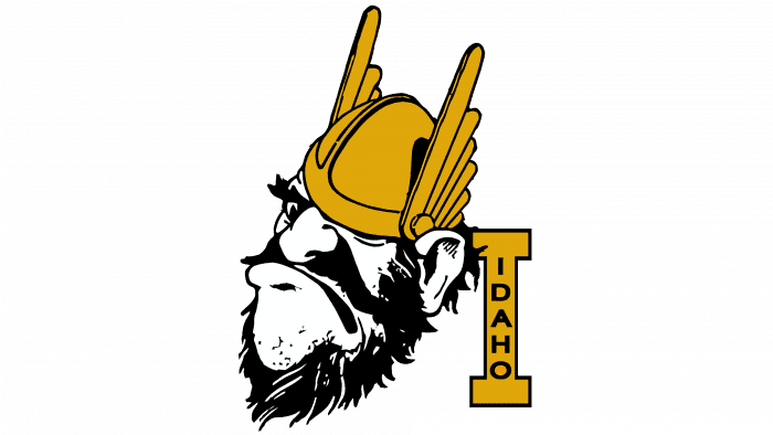 Idaho Vandals logo 1966-1972