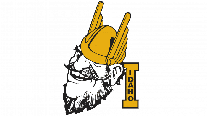 Idaho Vandals logo 1973-1982