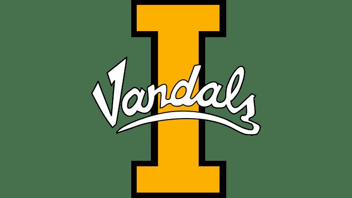 Idaho Vandals logo 1992-2003