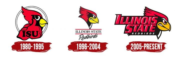 Illinois State Redbirds Logo History