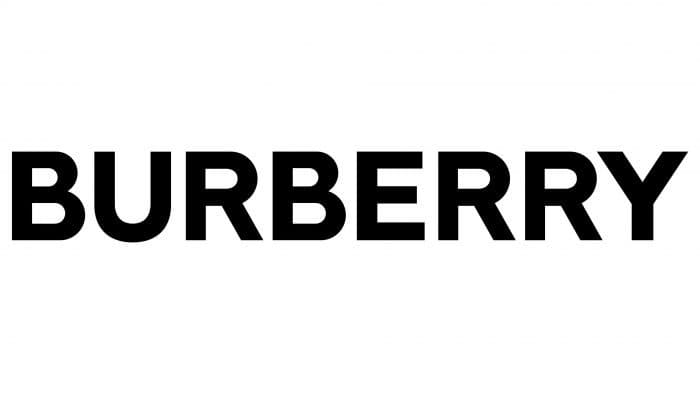 Burberry Logo 2018-present