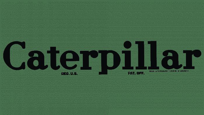 Caterpillar Logo 1932-1939