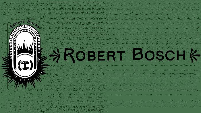 Robert Bosch Logo 1900-1907