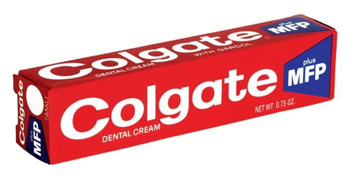 Colgate Logo 1963-1980