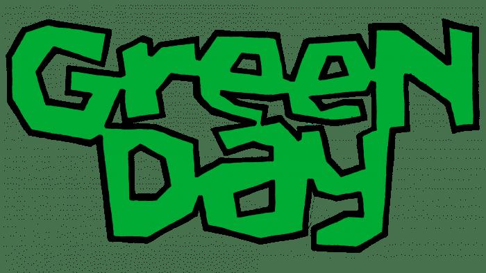 Green Day Logo 1989