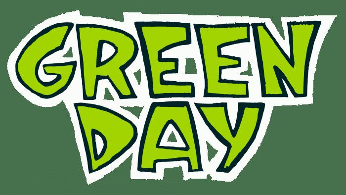 Green Day Logo 1990-1992