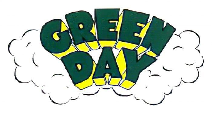 Green Day Logo 1994-1995