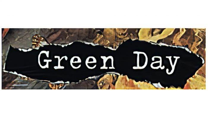 Green Day Logo 1995-1997