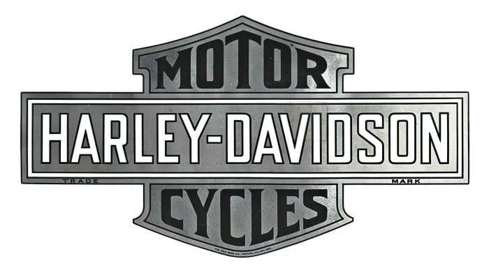 Harley-Davidson Motorcycles Logo 1910-1953