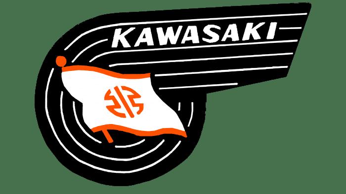 Kawasaki Logo 1961-1967