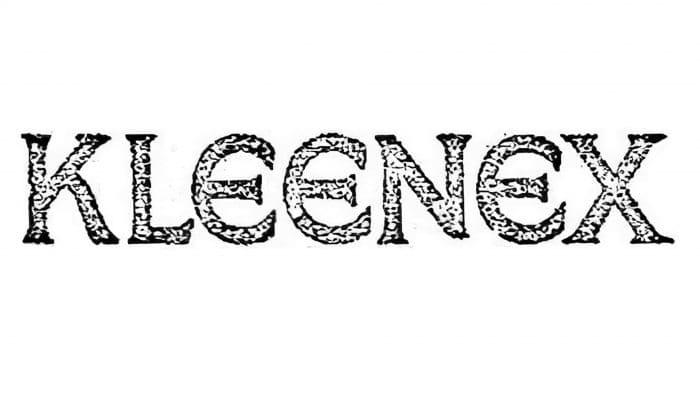 Kleenex Logo 1924-1932