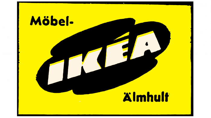 Mobel-IKEA Logo 1957-1958