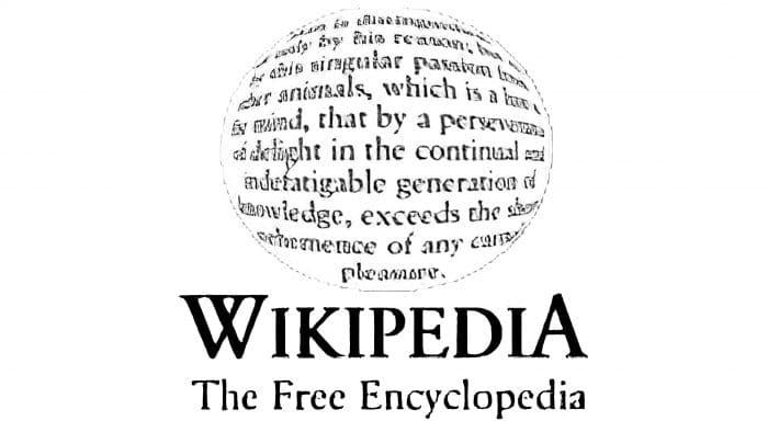Wikipedia Logo 2001-2003