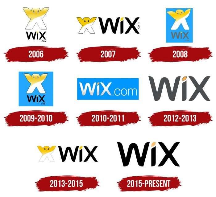 WIX Logo History
