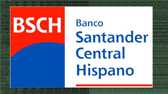 Banco Santander Central Hispano Logo 1999-2001