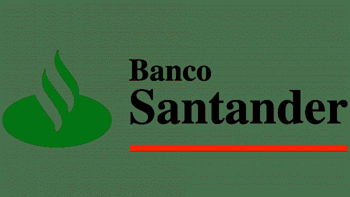 Banco Santander Logo 1986-1989