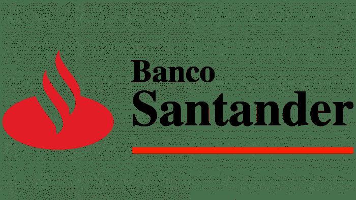 Banco Santander Logo 1989-1999