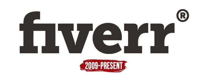 Fiverr Logo History