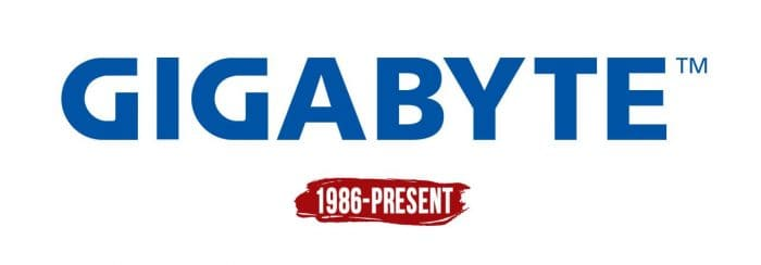 Gigabyte Logo History