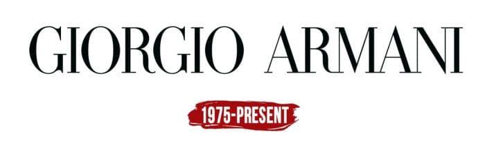 Giorgio Armani Logo History