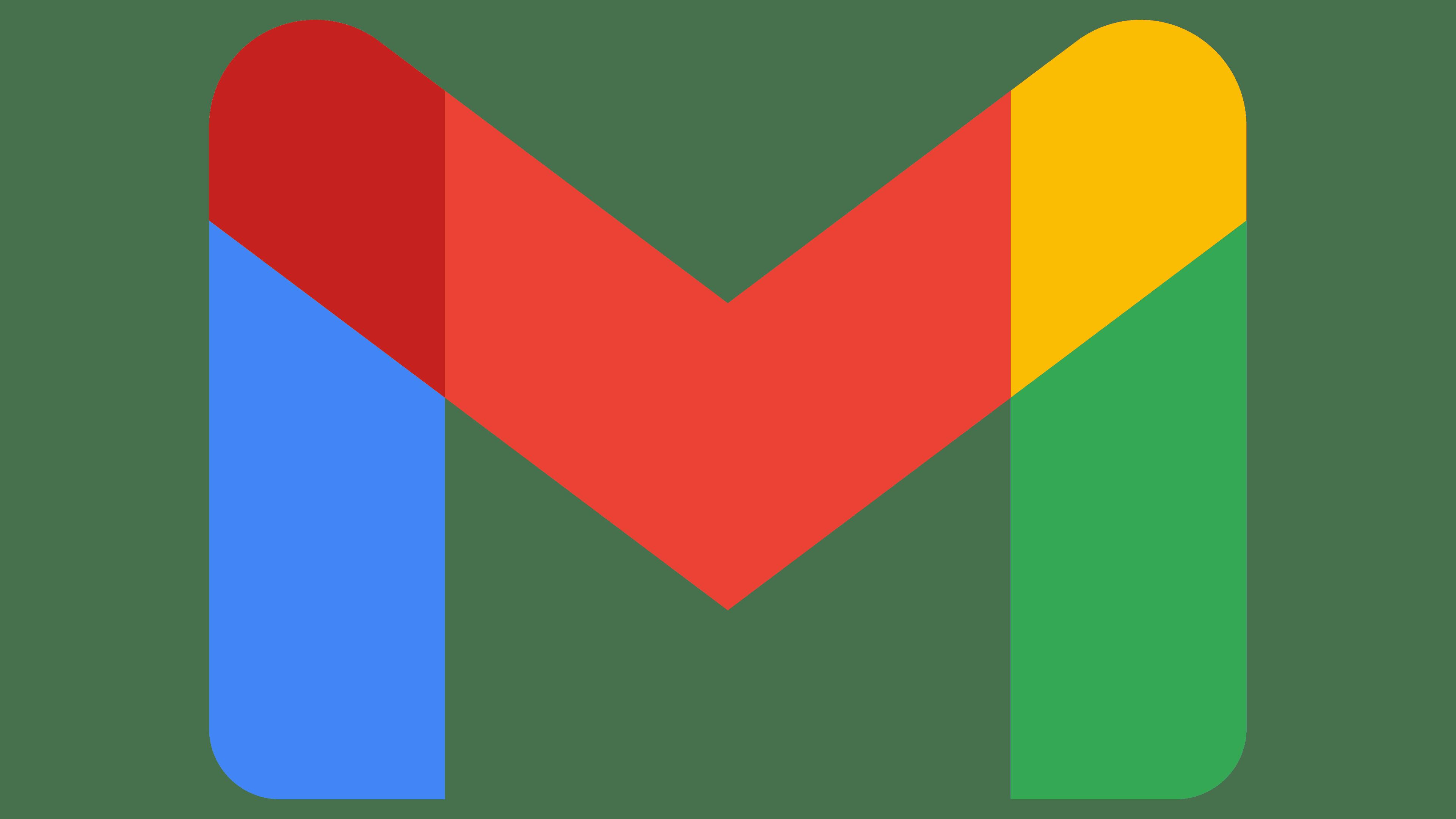 Gmail Logo   Symbol, History, PNG (3840*2160)