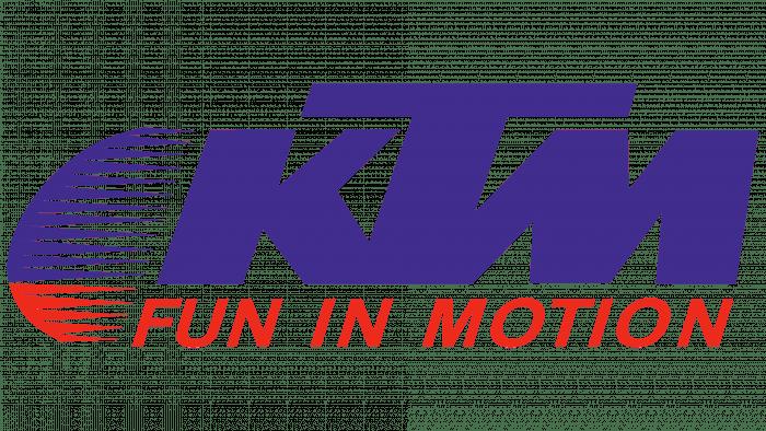 KTM Logo 1989-1992