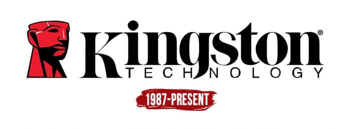 Kingston Logo History