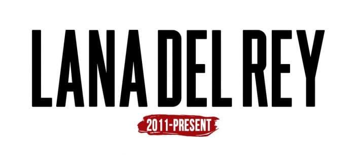 Lana Del Rey Logo History