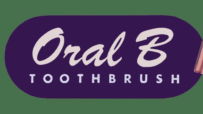 Oral B Logo 1950-1965