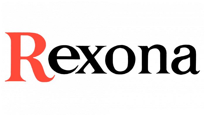 Rexona Logo 1969-1980
