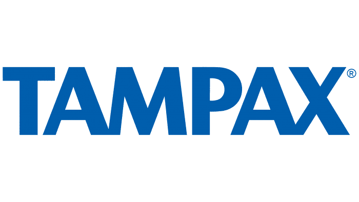 Tampax Logo 1990-2003