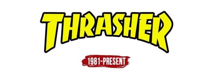 Thrasher Logo History
