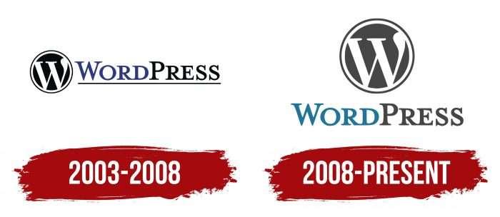 WordPress Logo History