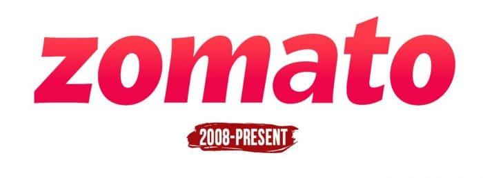 Zomato Logo History