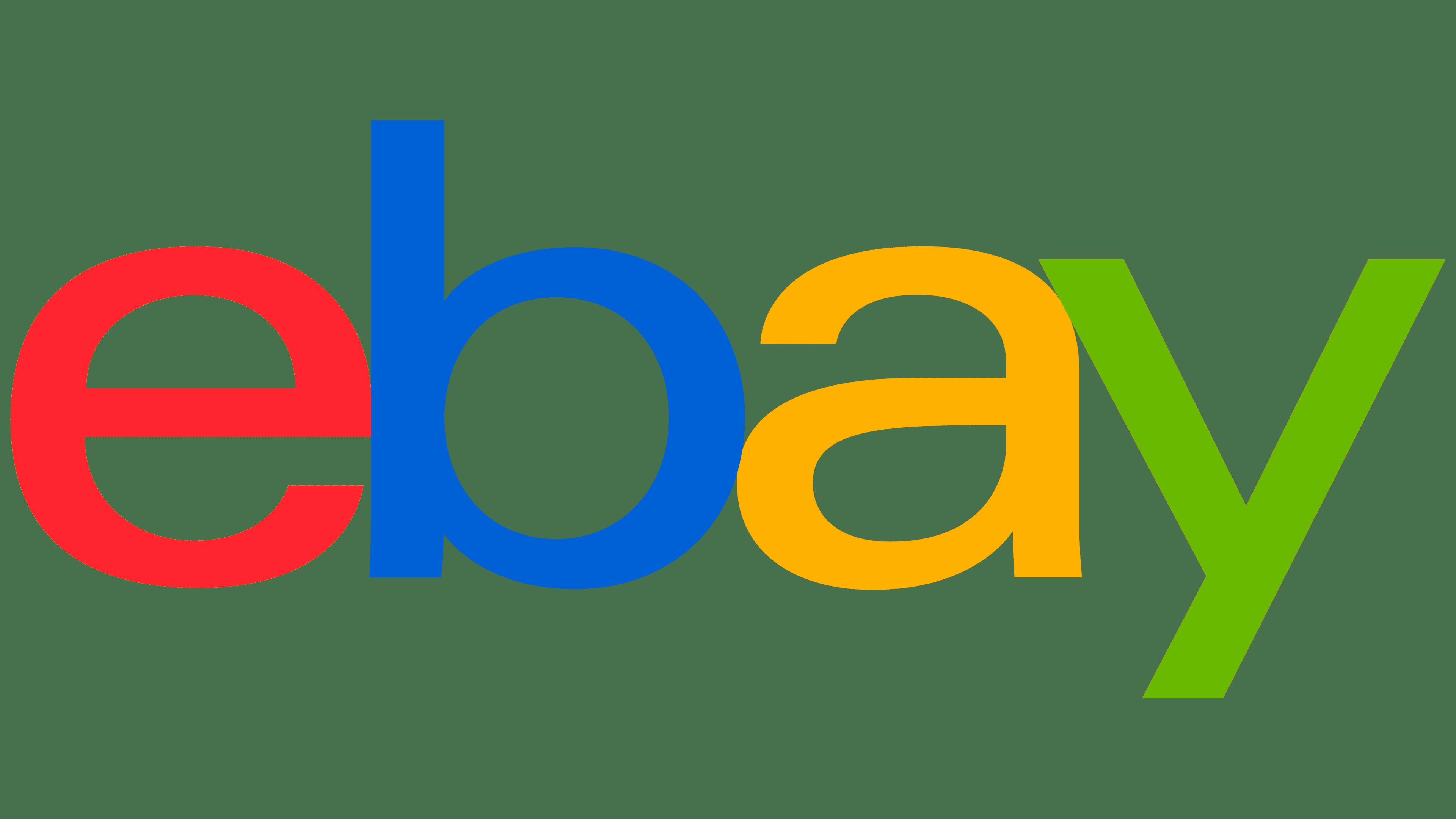 eBay Logo | Symbol, History, PNG (3840*2160)