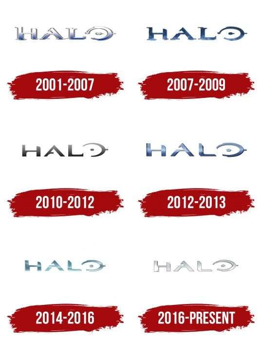 Halo Logo History