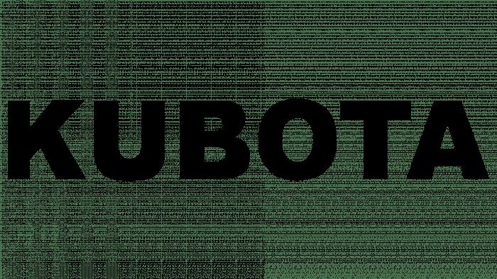 Kubota Logo 1969-2010