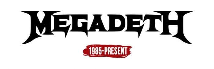 Megadeth Logo History