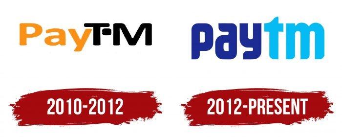 Paytm Logo History