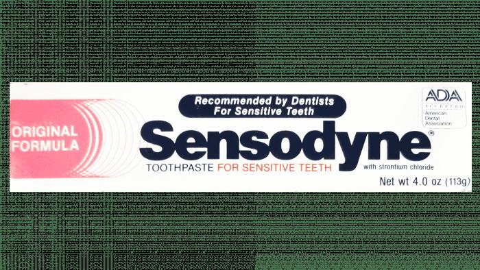 Sensodyne Logo 1961-2004
