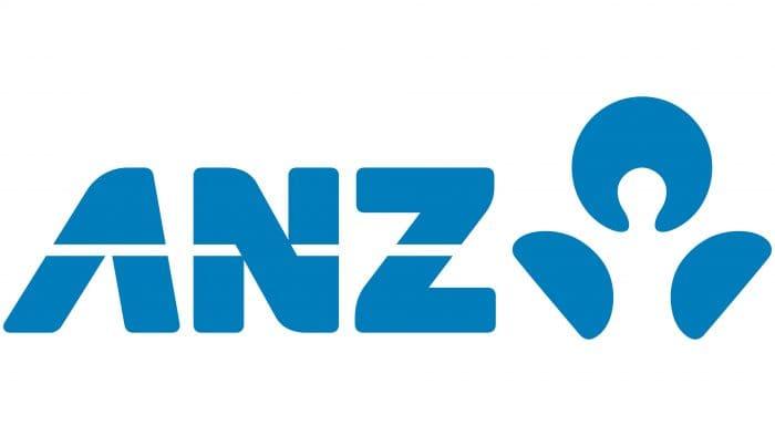 ANZ (Australia and New Zealand Banking) Logo 2009-present