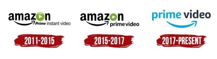 Amazon Prime Video Logo History
