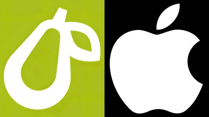 Apple and Prepear Logo