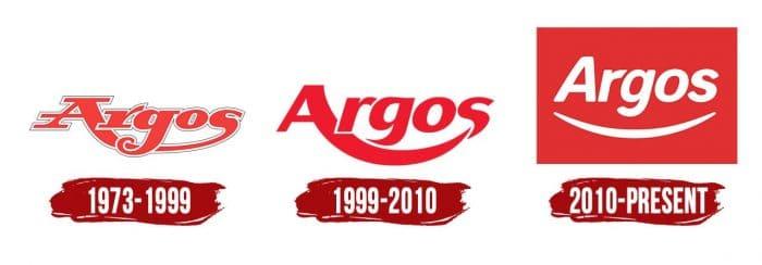Argos Logo History