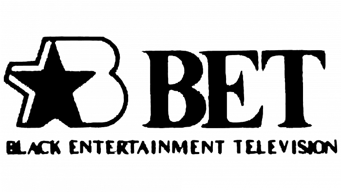 BET Logo 1980-1989