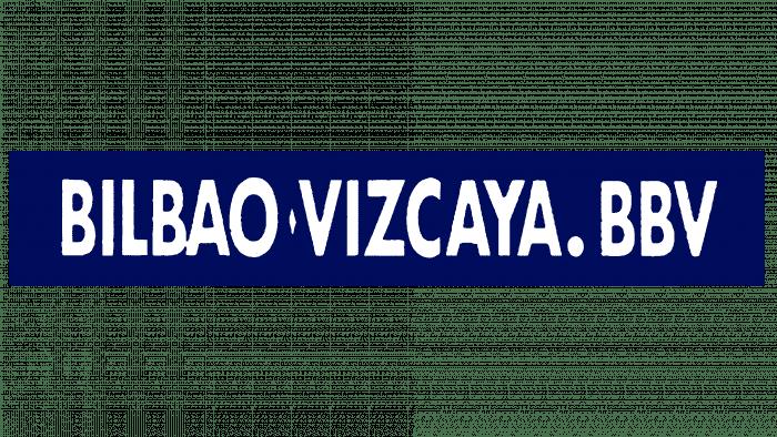 Banco Bilbao Vizcaya (BBV) Logo 1988